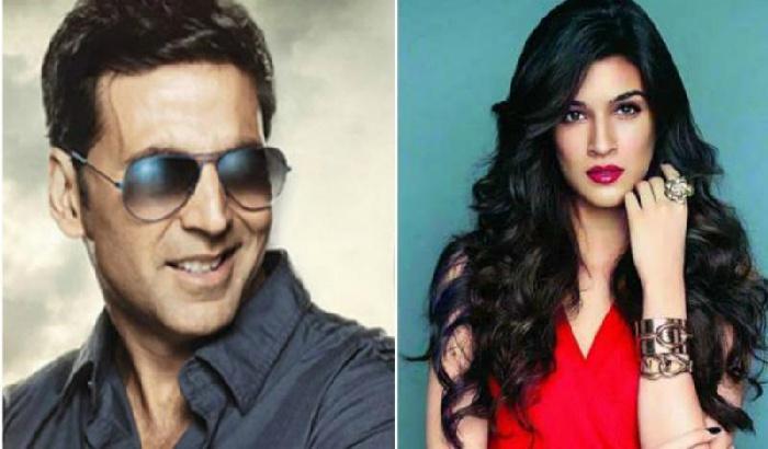 Kriti Sanon to romance Akshay Kumar in 'Housefull 4'?