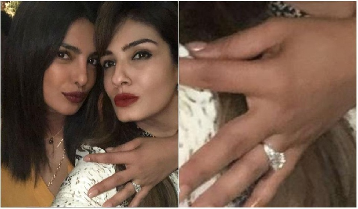 Priyanka Chopra's engagement ring sets the internet ablaze! Here are the details of the giant rock