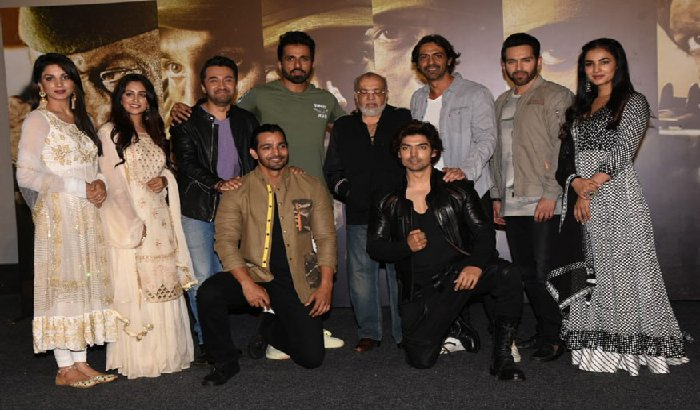 Team Paltan come together for trailer launch