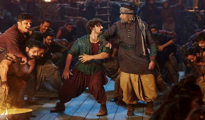 WATCH: Amitabh Bachchan & Aamir Khan dance in Thugs of Hindostan's Vashmalle