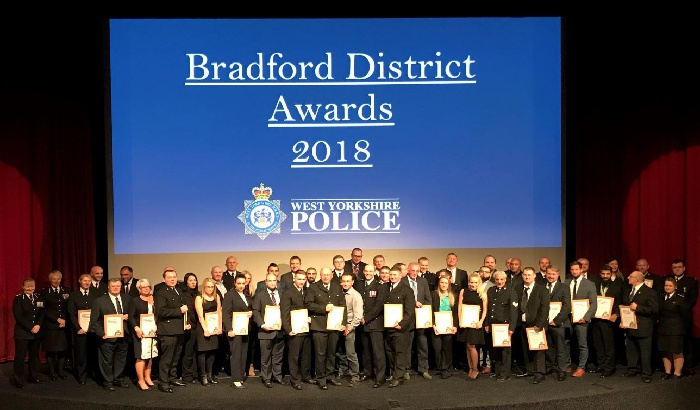 Bradford District celebrates excellence in policing