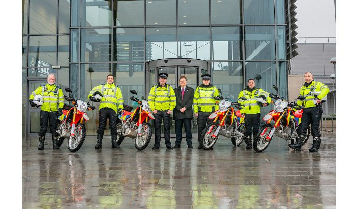 Police bikers put highest number of illegal off-road riders before courts yet