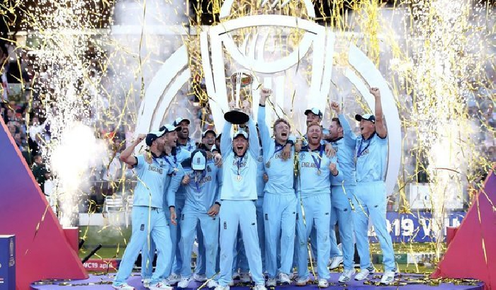 Celebrating Bradford's Cricket World Cup winners