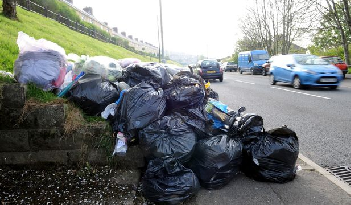Bradford council praised for efforts to tackle fly-tipping