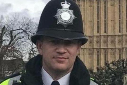 PC Keith Palmer recognised in Queens Birthday Honours - Black