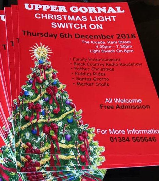 Free Christmas Radio.Upper Gornal Christmas Light Switch On Black Country Radio