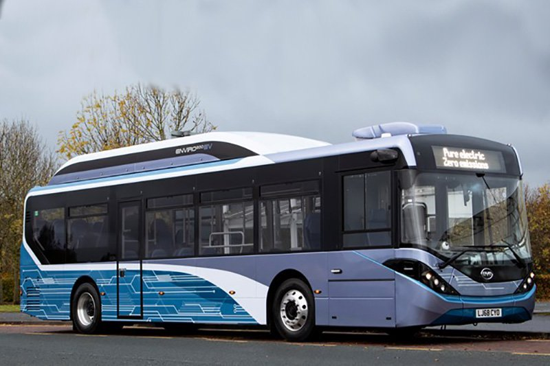 National Express West Midlands Is Running Its First Fully Electric Bus