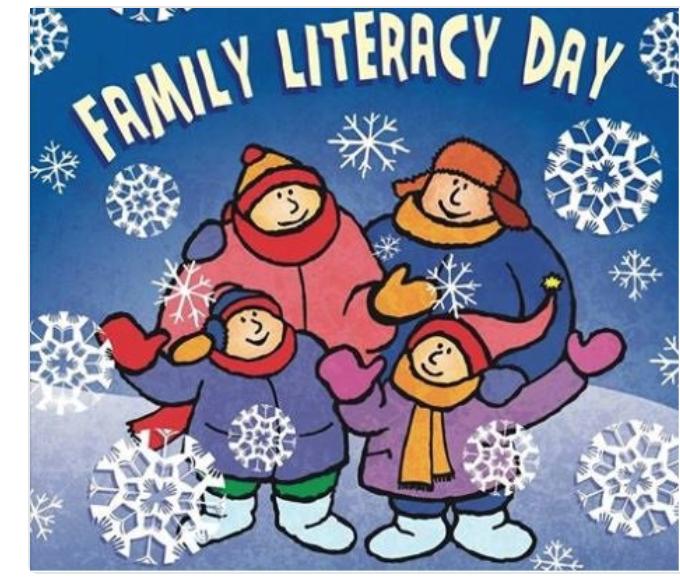 Family Literacy Day 961 The Rush