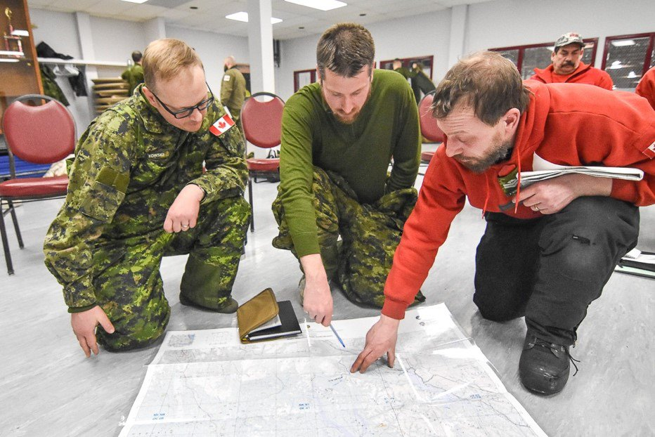 Canadian Army Reservists Execute Military Exercise in Yukon - 96 1