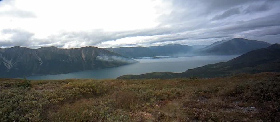Smoke rolls into southern Yukon
