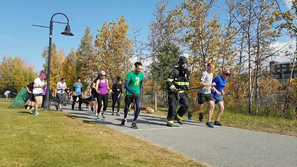 Terry Fox Run goes in Whitehorse