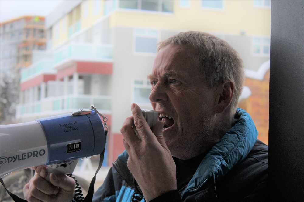 Yukon Employee's Union rally's for reversal of Government privatizations