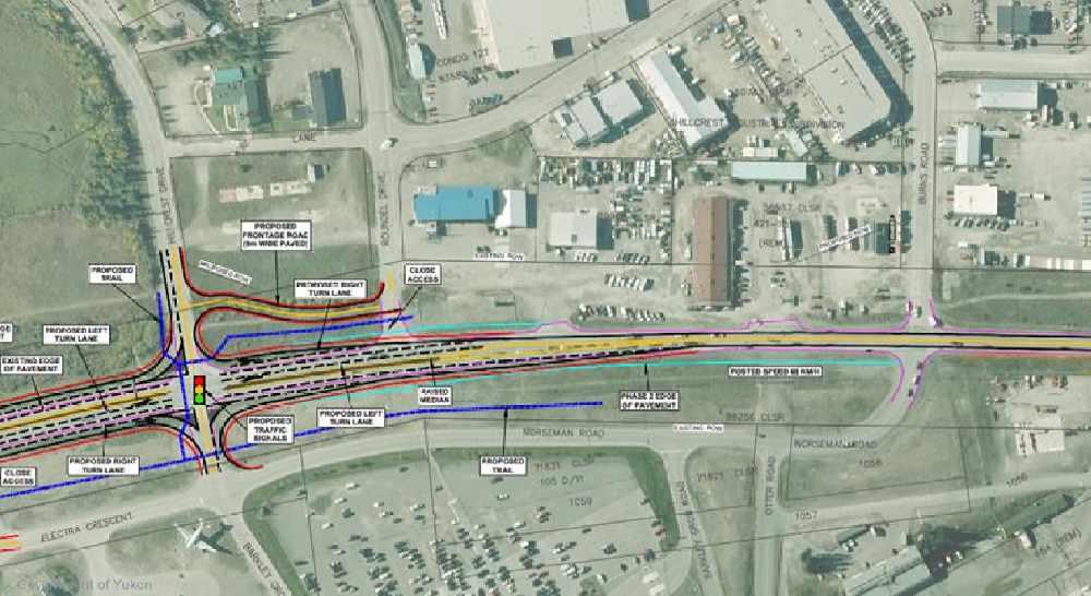 Alaska Highway upgrades planned for Whitehorse