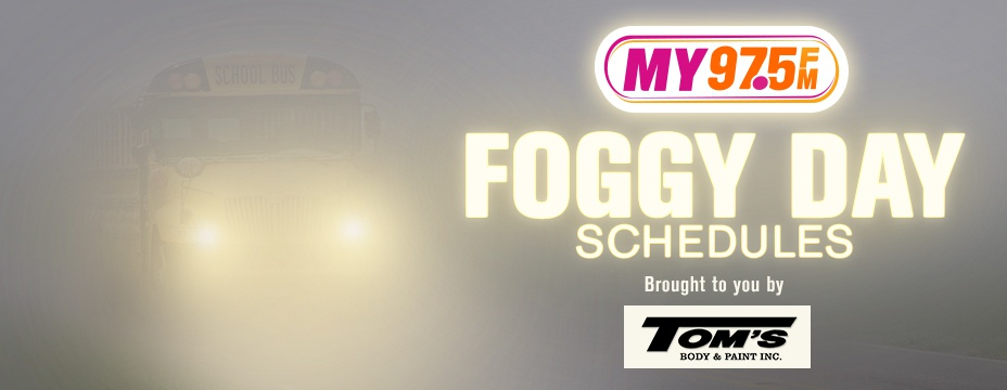 Foggy Day School Schedules