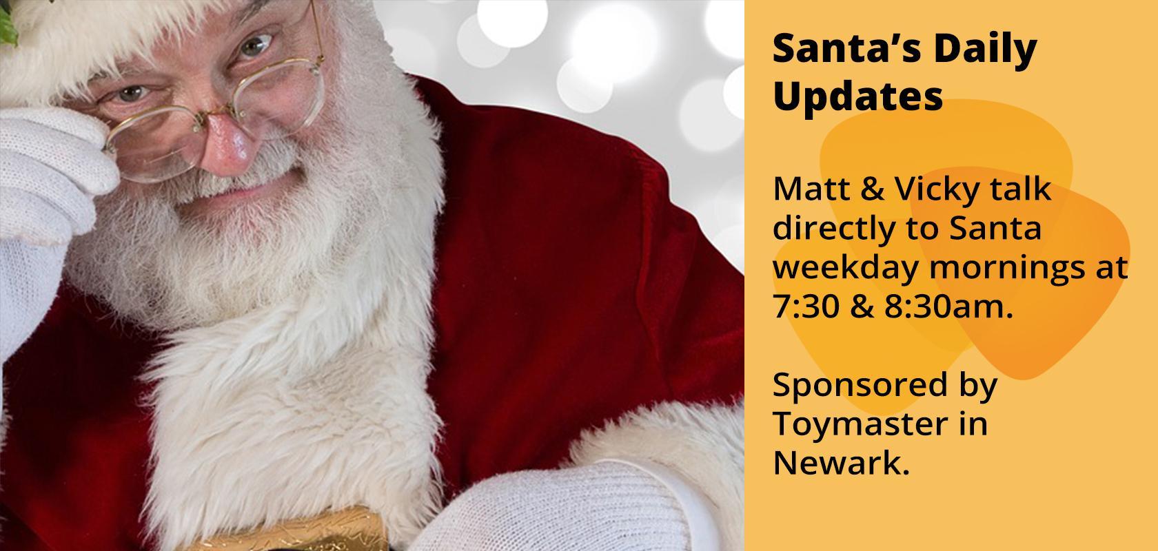 Santa's Daily Updates