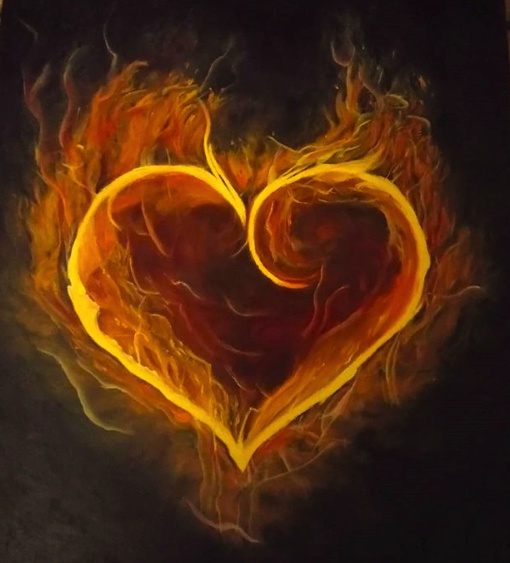 Awakening the fire of the heart - Jules Wheat