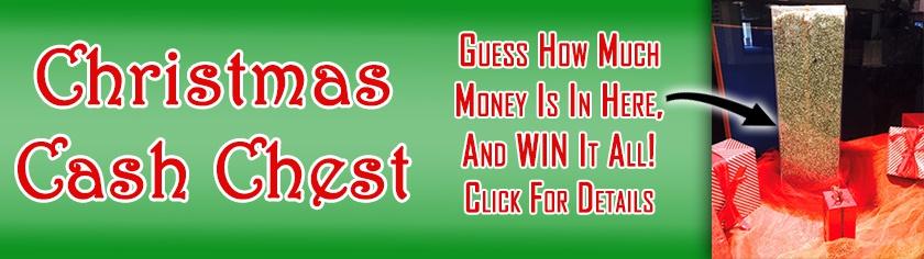 Christmas Cash Chest