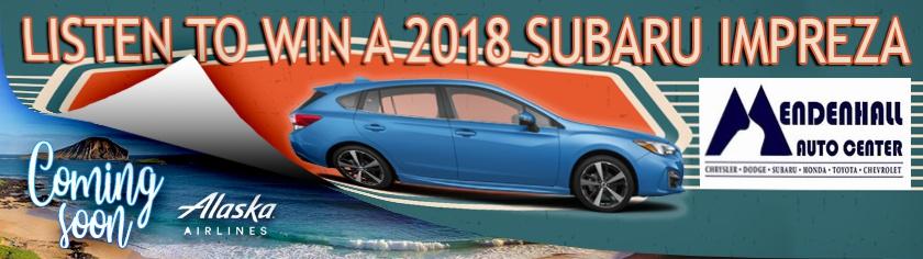 Subaru Giveaway + Hawaii