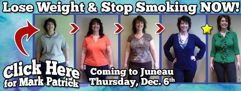 Mark Patrick Weight Loss & Stop Smoking Seminar - Juneau Dec 2018