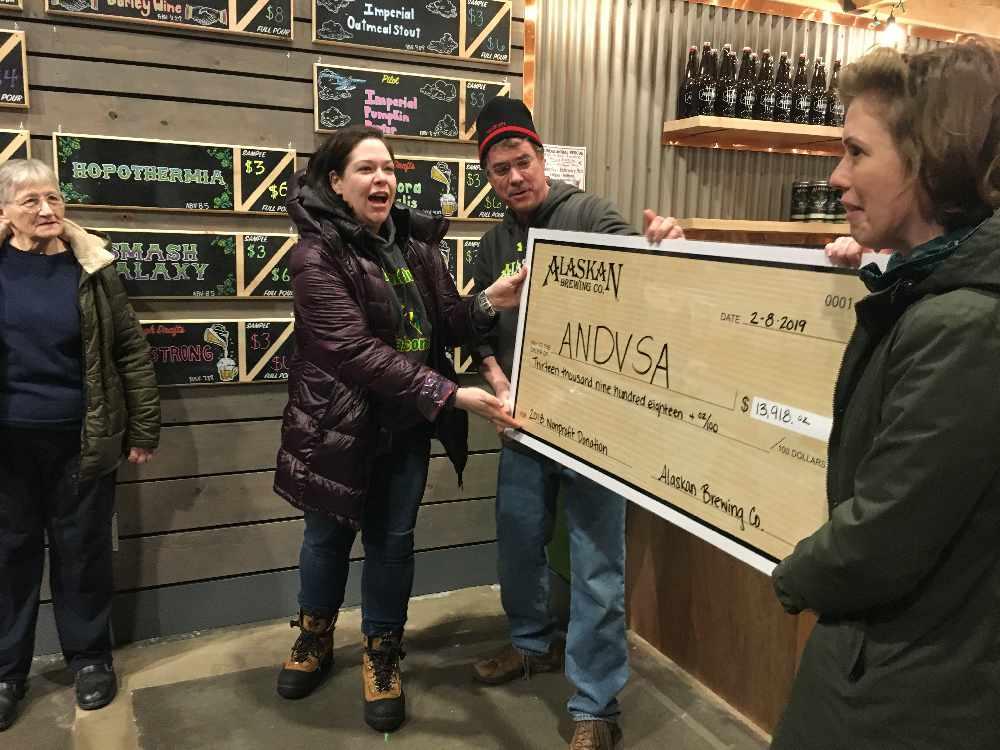 Alaskan Brewing helps Alaska Network on Domestic Violence and Sexual Assault