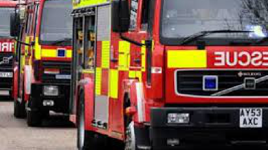 Blaze breaks out in locker room of a building in Royton - Revolution