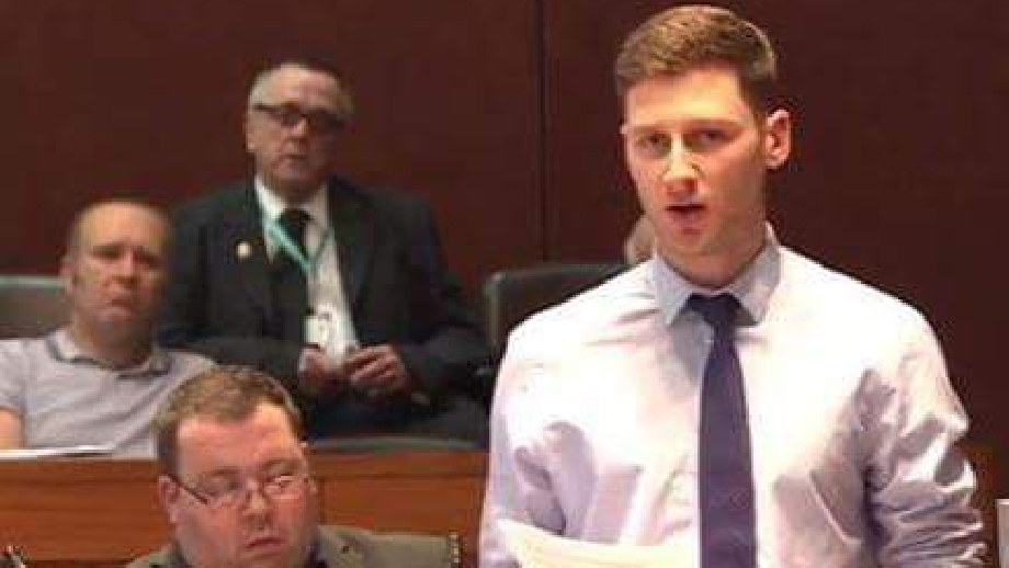 Councillor Sean Fielding, cropped