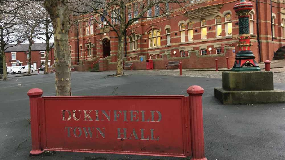 Dukinfield Town Hall, cropped