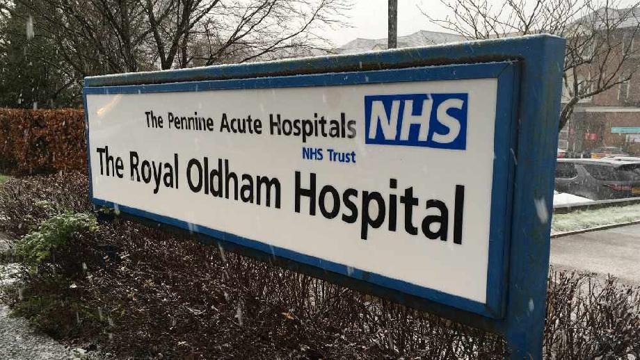 Royal Oldham Hospital, cropped