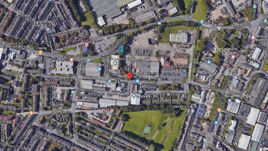 Moorhey Street, Oldham, cropped