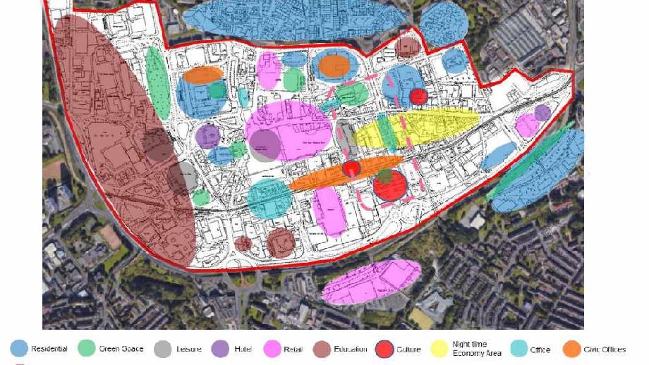 Oldham Town Masterplan, cropped