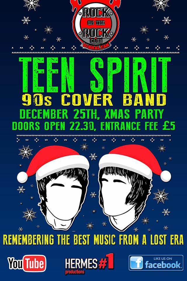 Teen Spirit 90's Cover Band - Rock Radio
