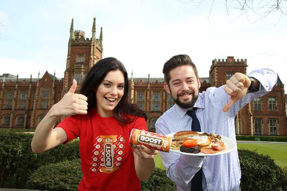 Boost launches Ulster Fry flavoured energy drink in Northern Ireland