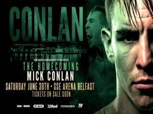 Michael Conlan to fight on home soil this summer at SSE