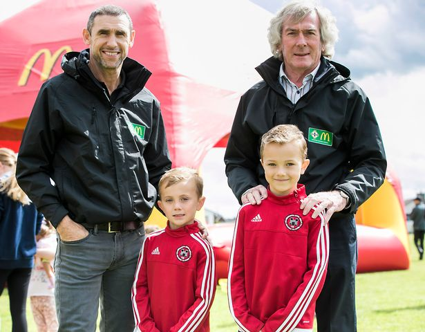 IFA and McDonald's ambassadors, Pat Jennings and Martin Keown are calling for people involved in Grassroots football to nominate the unsung heroes of the game across Northern Ireland with the deadline for the 2018 Grassroots Football Awards looming.