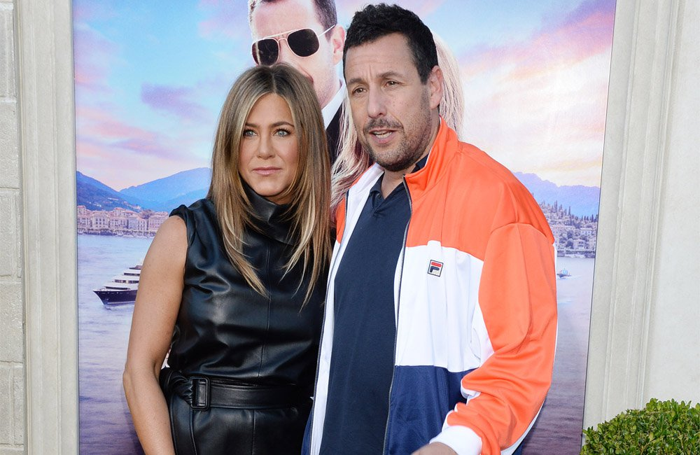 Adam Sandler urges Jennifer Aniston to make 'Friends' movie