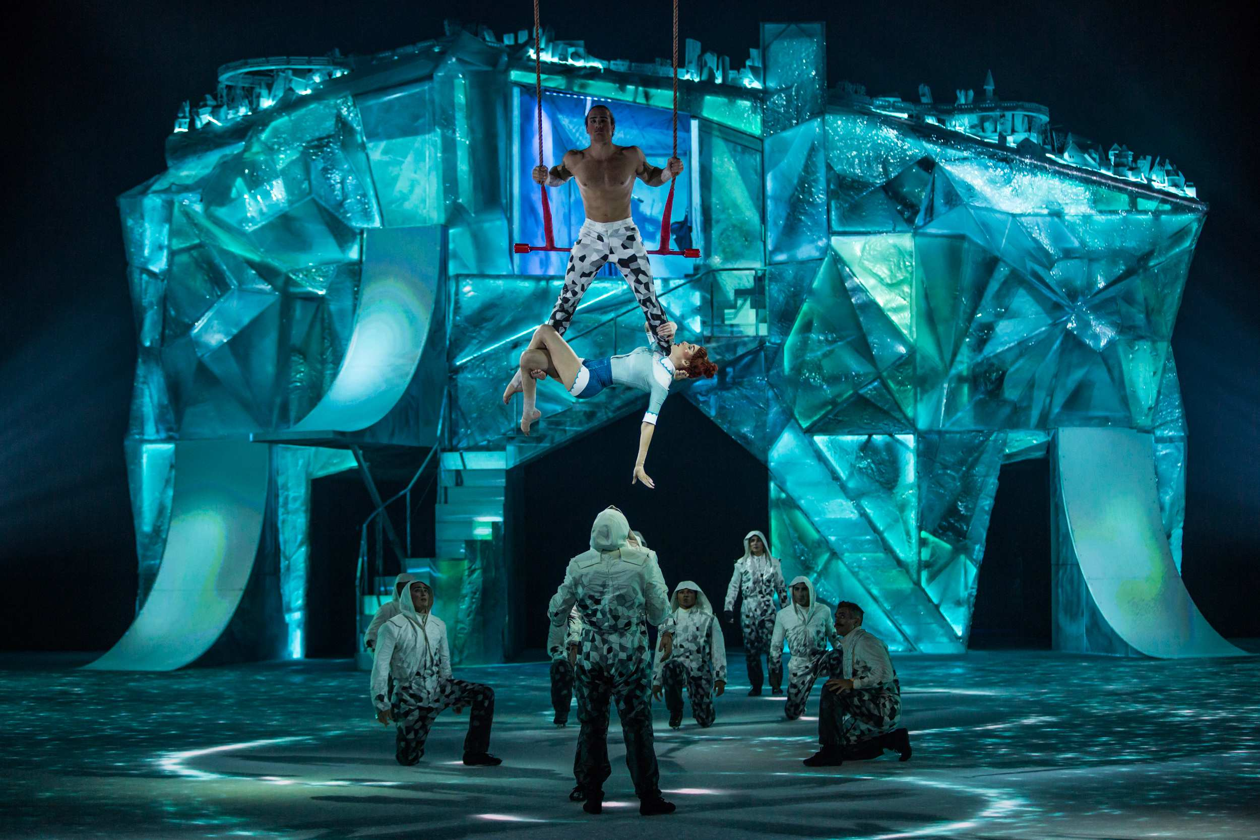 The first acrobatic performance on ice is coming to Northern Ireland