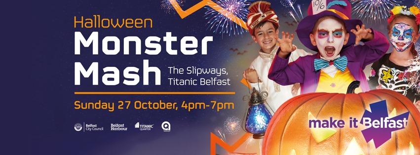 Halloween Belfast Monster Mash