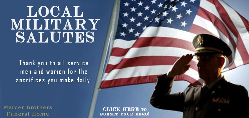 Local Military Salutes