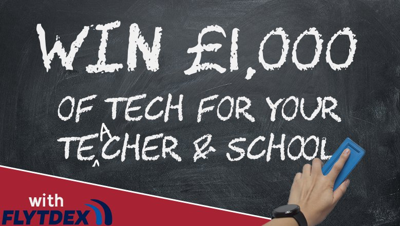 Win tech for your teacher and school
