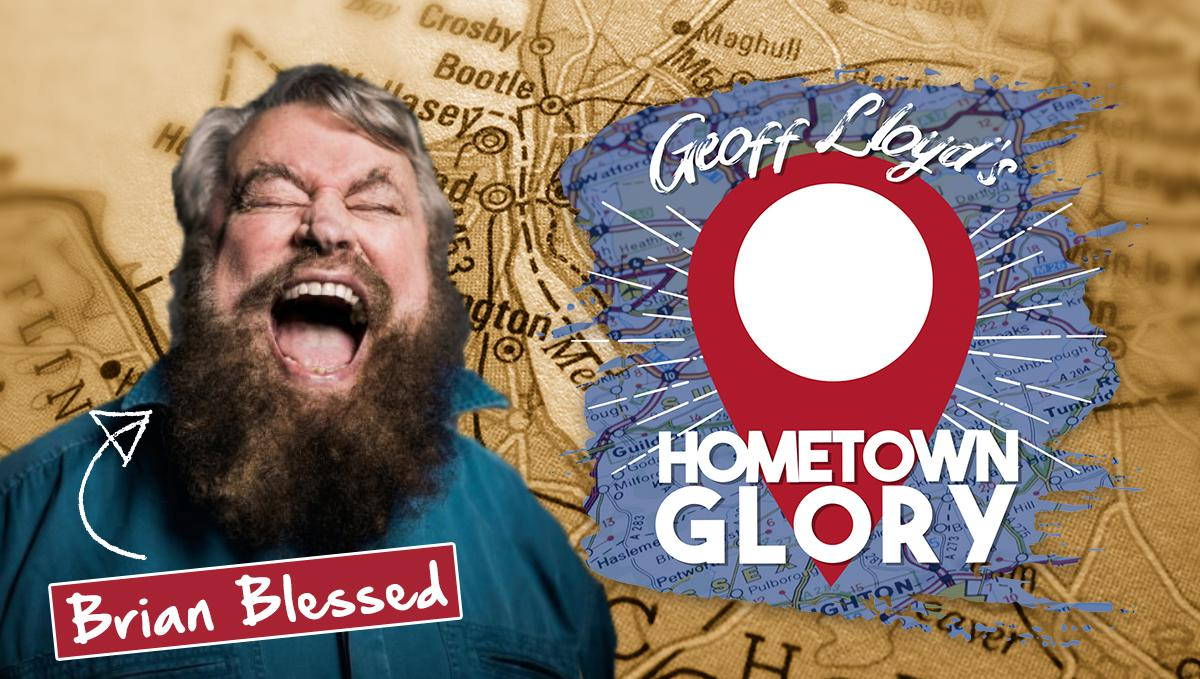 BRIAN BLESSED natters with Geoff Lloyd