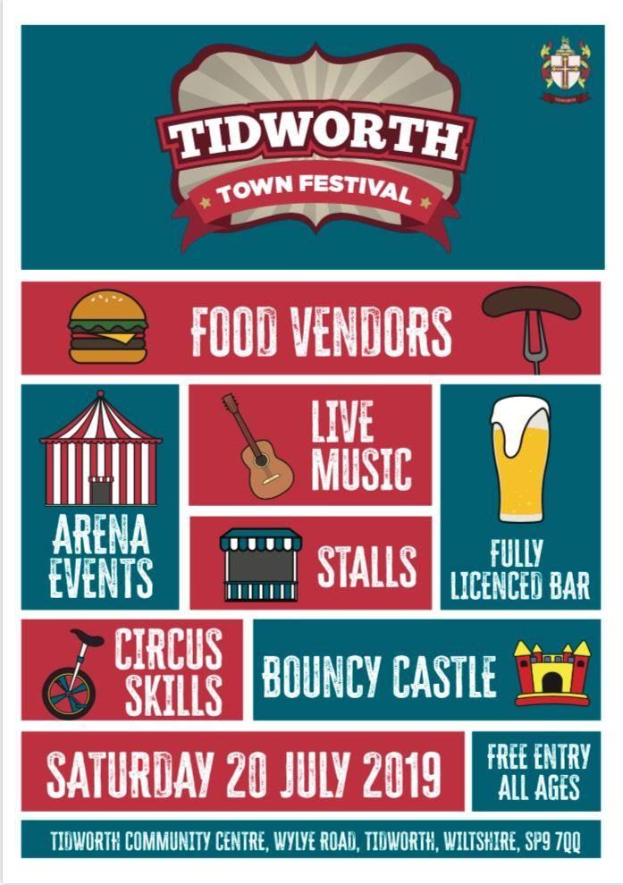 Tidworth Town Festival 2019 - Castledown FM