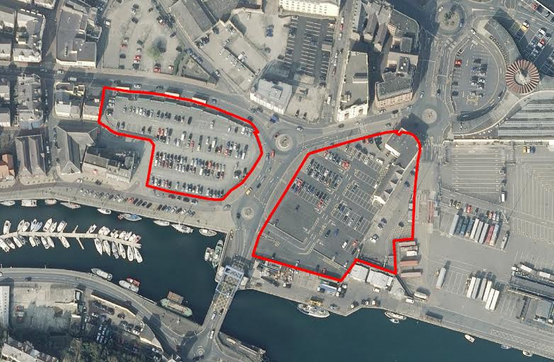 Lord St and Parade St sites earmarked for development 3FM Isle of Man
