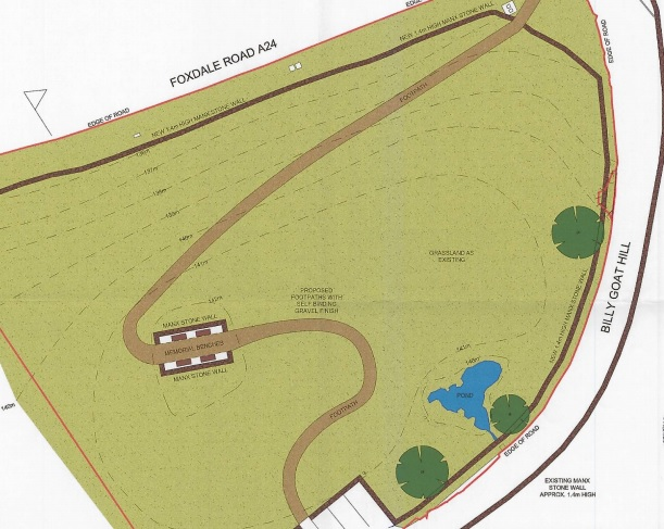 A Field In Foxdale Could Become A Memorial Garden Under Plans From A  Resident In The West.