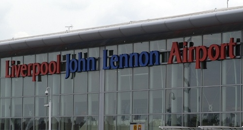 Liverpool John Lennon Airport closed after private plane overshoots runway