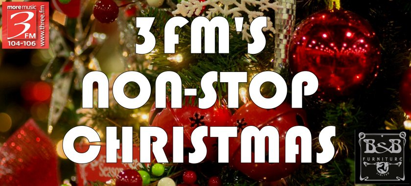Non Stop Christmas Music.Christmas Day 3fm Isle Of Man