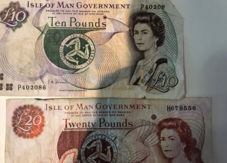 Bank sparks Manx notes row