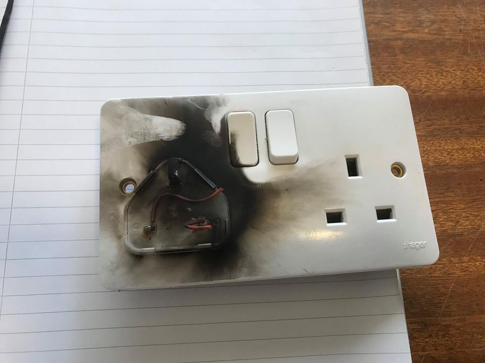 Be careful of plugs overheating, say Commissioners