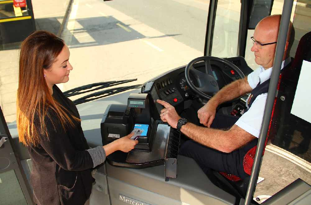 Buses now accept contactless payments