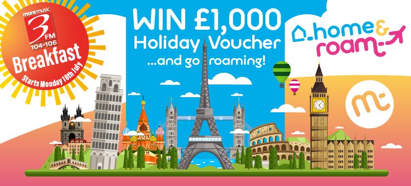 WIN £1000 HOLIDAY