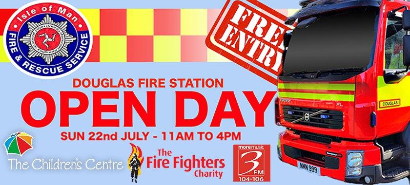 Douglas Fire Station Open Day 2018